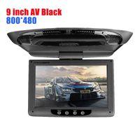 Car Video Est 9 Inch HD Radio AV Monitor For DVD Player Roof TFT Digital LCD Screen Headrest Touch