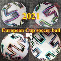 Top Calidad Europea Copa Oficial Facture Balón de fútbol 2021 Final Final Kyiv PU Tamaño 5 4 Bolas Gránulos Fútbol resistente al deslizamiento alto