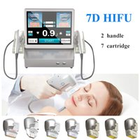 Salon hifu ultrasound face lifting and body slimming weight loss machine 7 cartridges of different depths
