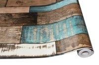 Modern Ahşap Tahıl Şekli Kendinden Yapışkanlı Duvar Kağıdı Odası Duvar Mura Su Geçirmez İletişim Kağıt Ayakkabı Dolabı Için Duvar Kağıtları