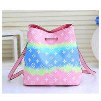 1 376 00 1 00 Bucket Bag For Women Luxurys Designers Handbags Fashion Buckets Bags Female Shoulder Tote Flower Dra