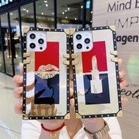 Güzel Bilezik Telefon Kılıfları Için Tasarımcı Iphone 12 11 Pro Max XR XS Samsung S8 S9 S10 Artı S10E Not 8 9