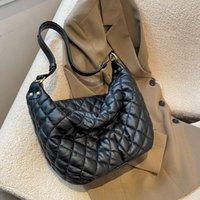 Evening Bags Luxury Shoulder For Women Soft Leather Corssbody Bag 2021 Winter Large Capacity Designer Handbag Lady Brand Cotton
