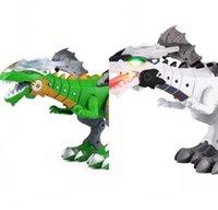 2021Walking Dragon Oyuncak Yangın Solunum Su Spreyi Dinozor Noel Hediye Çocuklar için 1014 X2