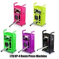 100% Original LTQ Vapor Rosin Press Machine KP-4 Wax DAB Squeezer Temperature Adjustable Extracting Tool Kits Presser With 4 Tons