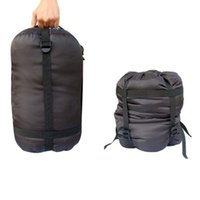 Outdoor Camping Plaid Oxford Stoff Schlafsäcke Kompression Aufbewahrungstasche Leichte Sachen Sack Großhandel