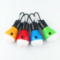 Lanternes portables Approvisionnement transfrontalier 3led Lampe de camping Lumière d'urgence Lanterne de Noël Décoration de Noël Petit Sling Sos SOS