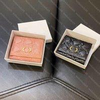 2021 Womens Wallets Frauen Karteninhaber Luxurys Designer Brieftasche Designer Geldbörse Münze Kreditkarteninhaber Portafoglio Portefeuille 22 2104094L