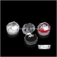 Прямая поставка 2021 Акриловая Чувствительная Мода для Подвеска Браслет бисер серьги Pins держателя кольца дисплея коробки ювелирных изделий коробки и упаковку Iq