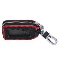 2021 PU Leather Car Key Wallets Men Women Housekeeper Keys Organizer Keychain Cover Zipper Keys Case Bags Pouch Key Holder