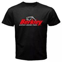 Berkley Рыболовные снаряжения Поводит больше рыбы Черных мужских футболок S до 2xL