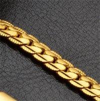 5mm Mode Luxus Herren Womens Schmuck 18 Karat vergoldet Kette Halskette Hip Hop Miami Ketten Halsketten Geschenke Großhandelszubehör 710 Q2