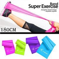 Resistance Bands 1.8m 1.5m  Fitness Rubber Silicone Elastic Muscle Stretch Equipment Yoga Pilates Expander Crossfit