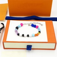 Designer pulseira pérola pulseira de ouro luxo simples cruzada padrão fivela jóias mulheres braceletes com caixa