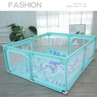 Storage Bags Playpen For Children Toddler Safety Fence Kids Tent Large Area Child Barrier Babys Playground Dry Ball Pool Baby Park