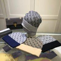 Moda Şapka Beanie Şapka Mektubu Ekose Tasarım Erkek Kadın Kış Kap 4 Renkler En Kaliteli