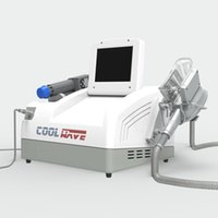 Latest technology coolwave Radial shock wave therapy fat freezing shockwave machine weigth loss body slimming pain relief
