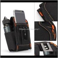 Outdoor Gadgets Mini Pocket Waist Electronic Cigarette Bag For Box Mod Rda Kit Vs Ud Vape X9 Carrying Yryxh 6Oqha