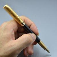 Высокое Качество 5 Цветов Пикассо Металлический роликовый шариковый ручка Бизнес офис Канцтовары Пишущие гельские ручки для подарка на день рождения