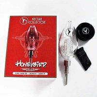 DHL Großhandel Honigbird Delux Kits Rauchen Zubehör NC Bowl Wasserleitung Veränderbare Spitze mit Quarz Titan Keramik