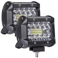 Carro LED Work Light Bar Lâmpada de Condução para Offroad Truck Trator de Barco 4x4 4WD SUV Nevoeiro Luz 12V 24V Farol para ATV LED Bar