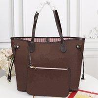 Мода женские сумки женские сумки ведущие женские сумки из двух частей набор большая емкость 40 * 33 * 20 см Высококачественная сумка сумки с последовательным кодом