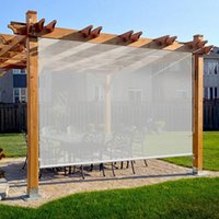 Keego dış rulo gölge akülü açık güneşlikler ışık filtreleme güneş ile% 80 UV koruma gizlilik ekranı