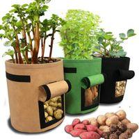 NewPlant cresce sacos de casa jardim batata pote estufa vegetal crescente hidratante ferramentas verticais EWF7913