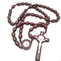 Cattolici religiosi croce rosario perline collana Rosario Yiwu Forniture religiose