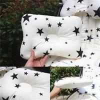 Muslinlife 1 pcs roupa de cama bebê crianças travesseiro anti-rolagem almofada de pescoço de travesseiro de almofada de bebê travesseiro multifuncional 1062 y2