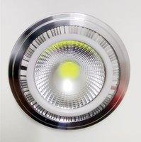 Lampe COB 7W 9W G53 LED 12W 110-240V Ar111 Ampoule AR 111 Spotlight GU10 Downlights