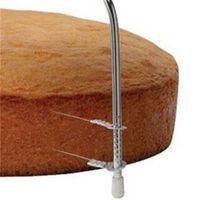 1 stück neue doppel linie einstellbare backwerkzeuge diy mold edelstahl werkzeuge kuchen brot slicer cutter strings messer eins 258 s2