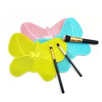 Makeup Brushes 1PC Silicone Brush Cleaner Pad Make Up Washing Gel Cleaning Mat Hand Tool Foundation Clean Kit
