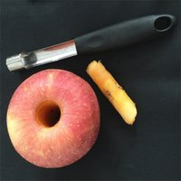 Apple Corer Stainless Steel Fruit Pear Corers Seed Remover Pitter Easy Twist Kitchen Core Tool Fruit Heart Separator 302 S2