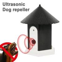 Dispositivo di addestramento per il controllo dell'esterno ad ultrasuoni dell'animale domestico dell'Altrasuoni Attrezzatura dei deterrenti che abbaia attrezzature per gli animali per i dispositivi di guida del gatto del cane con la scatola al minuto
