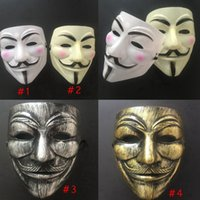 V Маска Хэллоуин Полное лицо Маскарада Маска Маска Вендетта Анонимная Партия Партия Партия Cosplay Horror Masks Cyz3031