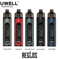 Uwell Aeglos H2 Pod Mod Kit 60W Max Output 1500mAh Battery with 4.5ml Cartridge fit 0.18ohm DTL & 1.2ohm RDL+MTL Coil Vape E-cigarette Authentic