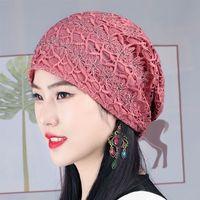 Fabbrica sottile donna sottile primavera e estate cava cappello traspirante del cappello traspirante elegante fiore tridimensionale BAOTOU che copre il cappello dei capelli bianchi Air