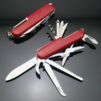 Domestic red 11 open multifunctional outdoor equipment stainless steel military camping multi-purpose tool life-saving knife