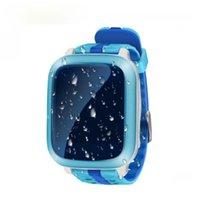 Sümüksü Yeni Akıllı İzle GPS Çocuk Çocuk Bebek Kol DS18 GSM GPS Bulucu Izci Anti-kayıp Smartwatch Çocuk PK Q90 V7K Q50