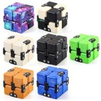 2021 DHL Infinity Magic Cube Creative Galaxy Fidget Giocattoli Antitrazioni Ufficio antistress Flip Puzzle cubic Mini Blocchi Decompressione Giocattolo Disponibile