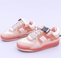 2021 Bad Bunny X Originals Forum Osterei Niedrig Chaussures De Designer Sneakers Schuhe Teenager Aktive Laufstrupte Little University Sport