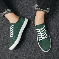 Summer breathable sports Retro canvas Fashion leisure men Shoes Sneakers vintage Low top Obliques Outdoor Platform comfort Casual Skateboard Yellow