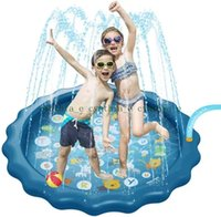 Splash Play Mat Kids Inflatable Sprinkler Outdoor Spray Water Baby Snowdlers