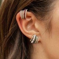 Algemas de orelha larga clipe em brincos para mulheres sem piercing pérola de cartilagem de cristal audiços de orelha de casamento clipes jllwse 2200 Q2