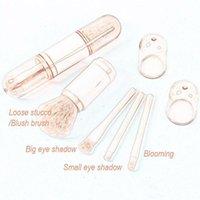 Makeup Brushes 4pcs Brush Tool Portable Multifunctional Set Shadow Cosmetics Powder Blush Eye Foundation Beauty Tools M3W8