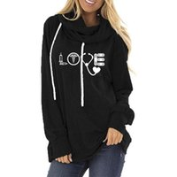 Women's Hoodies & Sweatshirts Fall 2021 Women Printing Graphic Letter Sweatshirt Kawaii Clothing Aesthetic Tops Long Sleeve