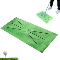 Golf Training Mat Swing Detection Colpire pratica indoor Aiuto cuscino Golfer Accessori sportivi AIDS