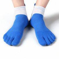 38-43 Erkekler Açık Spor Bisiklet Çorap 1 Pair Nefes 5 Parmak Toe Terlik Çorap Coolmax Pro Bisiklet Koşu Çorap BC0337 32no #
