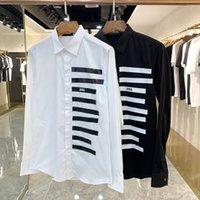 DSQ Phantom Turtle Shirts Mens Designer Chemises Marque Vêtements Hommes Hommes à manches longues Chemise Hip Hop Style Hauteur Haute Qualité LSR DSQuared2